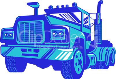 truck worm view vintage retro
