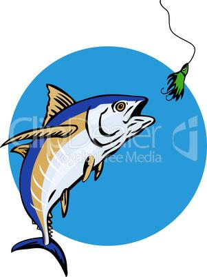 tuna albacore retro