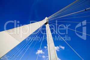 Suspension Bridge Abstract Architecture
