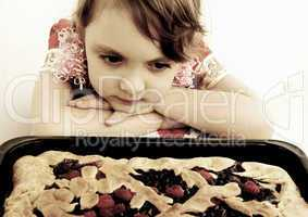 Pie for a daughter