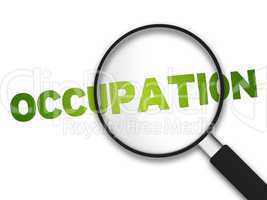 Magnifying Glass - Occupation