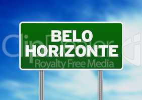 Belo Horizonte Highway Sign