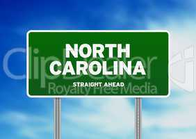 North Carolina Highway  Sign