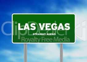 Las Vegas Highway  Sign