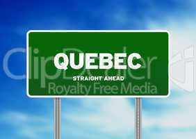 Quebec Highway  Sign