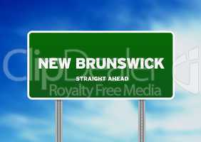 New Brunswick Highway Sign