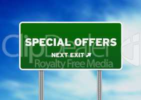 Special Offers Highway Sign