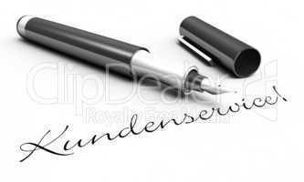 Kundenservice! - Stift Konzept