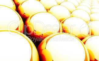 Kugel Matrix Hintergrund - Orange Rot Weiß 01