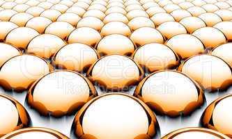 Matrix Balls Background - Orange Black White 02