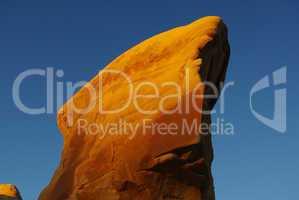Devils Garden rock in the first morning sun, Utah