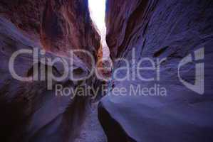 Slot canyon in Grand Stair Escalante National Monument, Utah