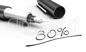 30% - Stift Konzept