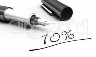 10% - Stift Konzept