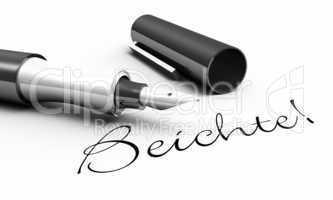 Beichte! - Stift Konzept