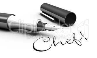 Chef! - Stift Konzept