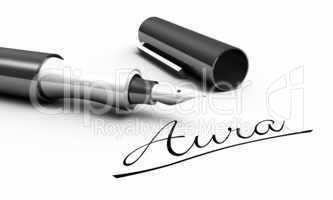 Aura - Stift Konzept