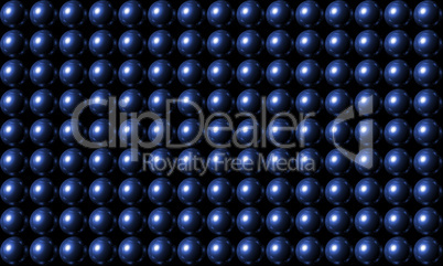 Blue Ball Grid Matrix Background