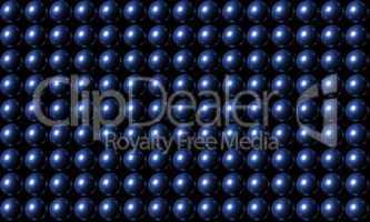 Blue Ball Grid Matrix Background