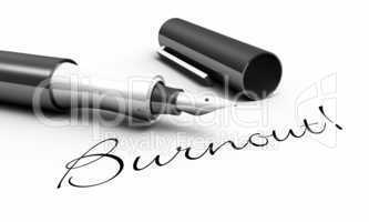 Burnout! - Stift Konzept