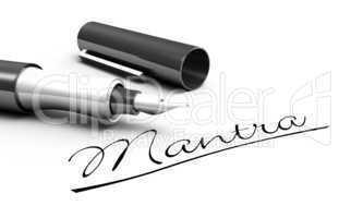 Mantra - Stift Konzept