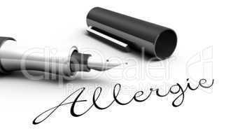 Allergie - Stift Konzept