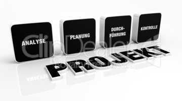 Text Konzept - 3D Projekt Schwarz 1