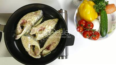 Fried Fish Preparation