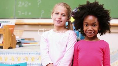 Schüler einer Klasse