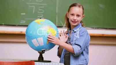 Schülerin einer Klasse