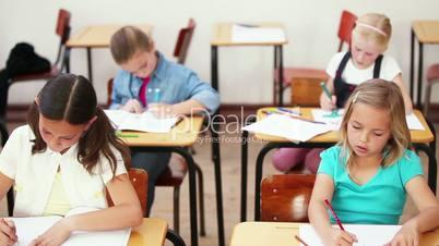 Unterricht in einer Schulklasse