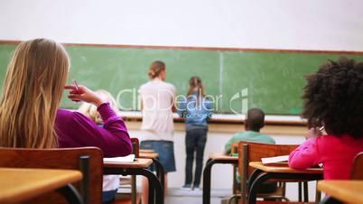 Unterrichtsstunde