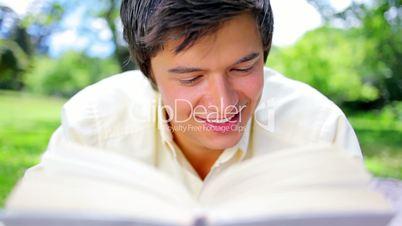 Mann mit dem Buch