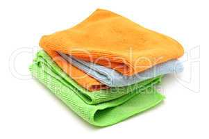 Colorful cloths microfiber
