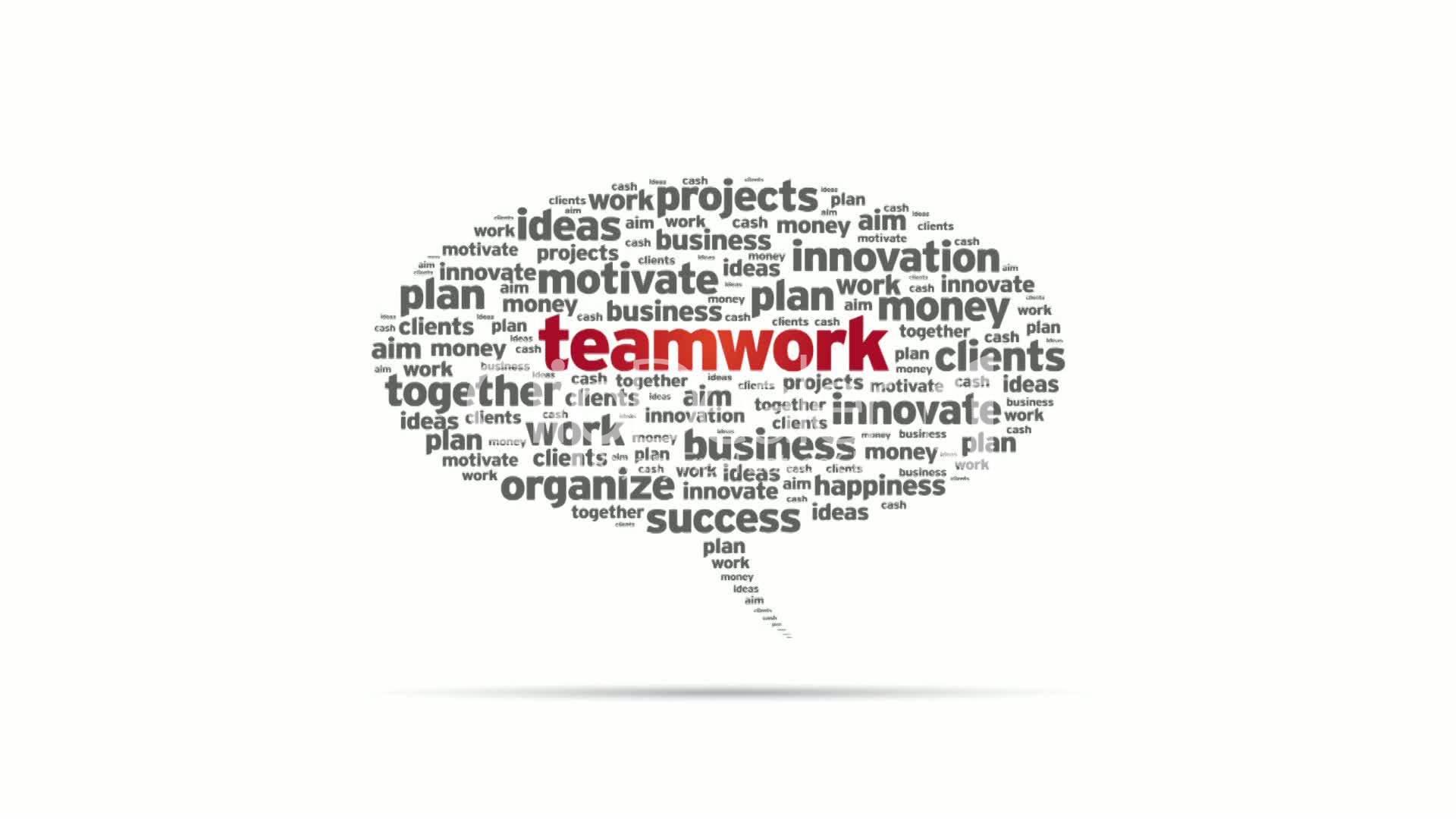 speech on teamwork and success