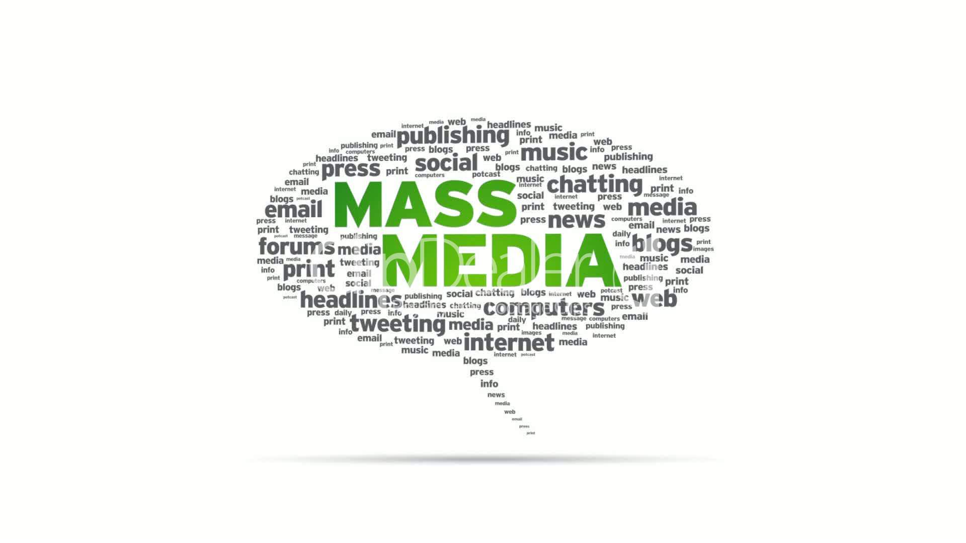 Mass Media: Royalty-free video and stock footage