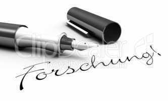 Forschung - Stift Konzept