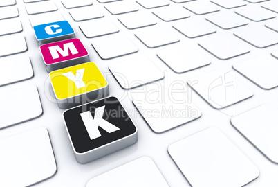 CMYK 3D Pad Symbolik 2