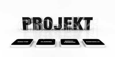 Text Konzept - 3D Projekt Schwarz 2
