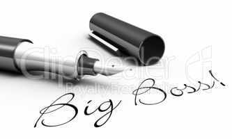 Big Boss! - Stift Konzept