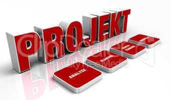 Text Konzept - 3D Projekt Rot 1