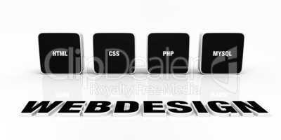 Webdesign Portfolio Konzept Schwarz 01