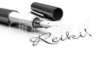 Reiki! - Stift Konzept