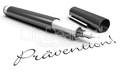 Prävention! - Stift Konzept