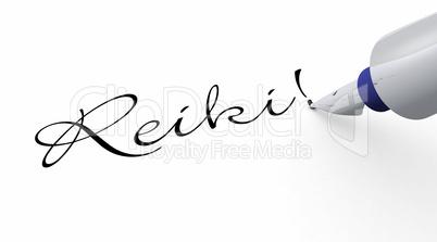 Stift Konzept - Reiki!