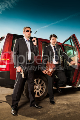 bodyguard and its boss