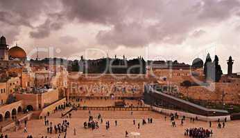 The Western Wall,Temple Mount, Jerusalem