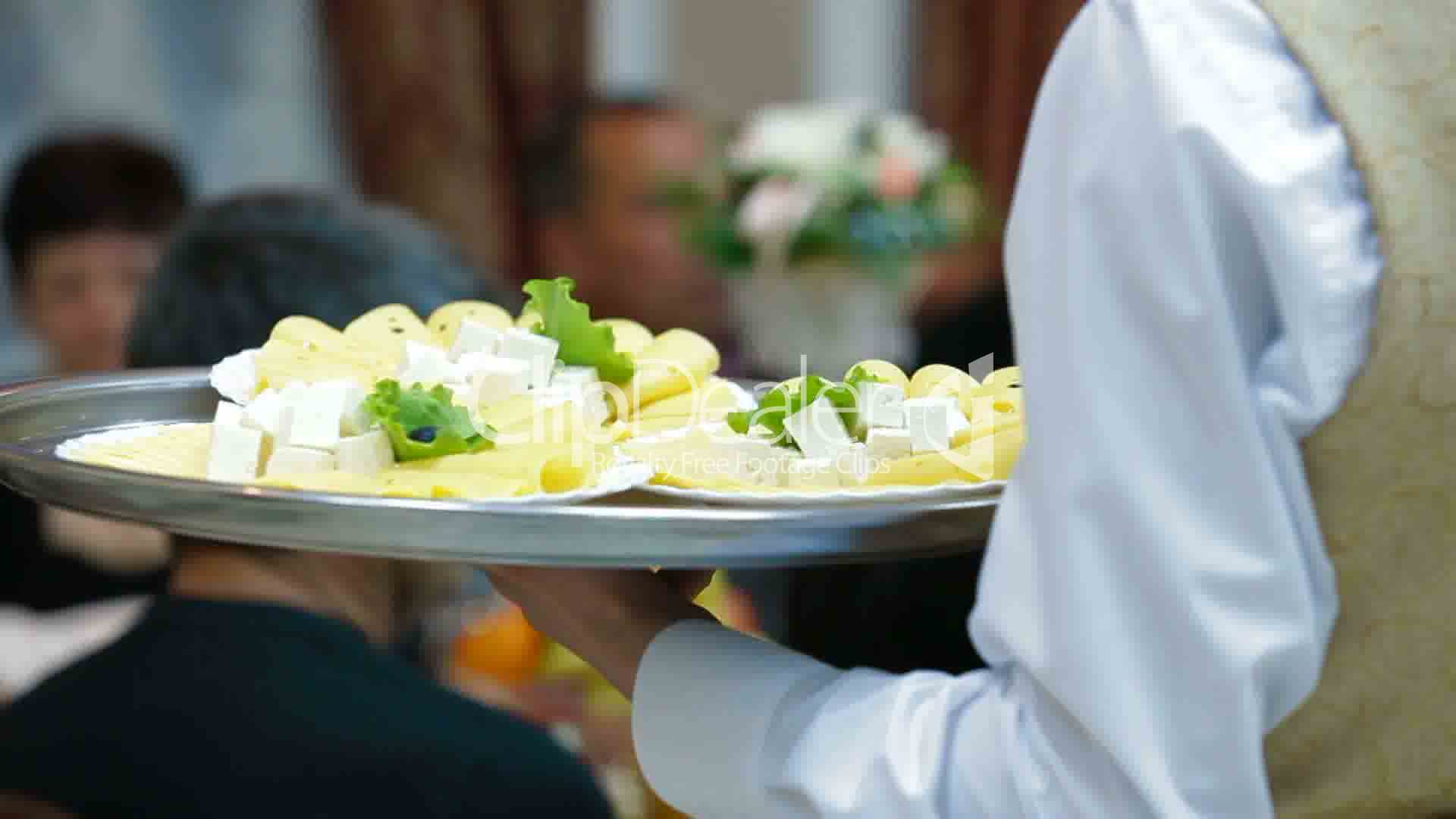 Waiters Serving Reception Royalty Free Video And Stock