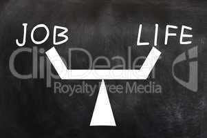 Balance of job and life