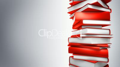 Red Books Stack (Loop)
